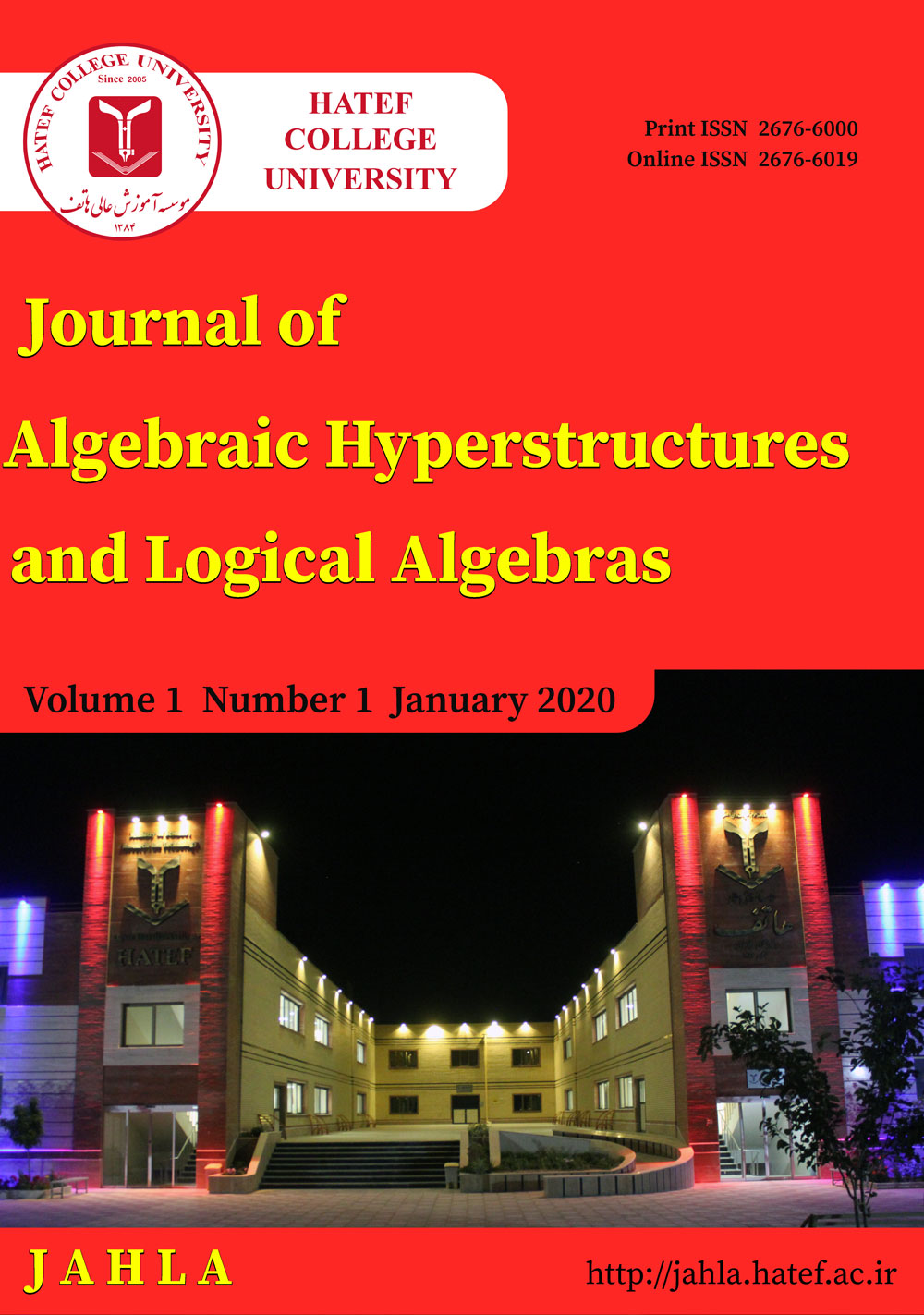 Journal of Algebraic Hyperstructures and Logical Algebras